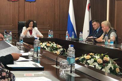 03 августа 2018 года в Малом зале Правительства Камчатского края состоялось заседание Координационного совета по применению профессиональных стандартов на предприятиях жилищно-коммунального комплекса Камчатского края.